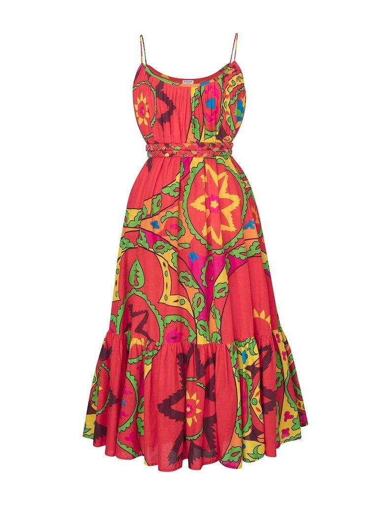 Rhode Lea Dress in Uzbek
