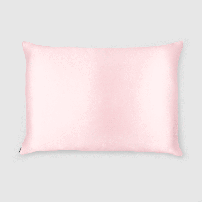 Shhh Silk Pink Silk Pillowcase