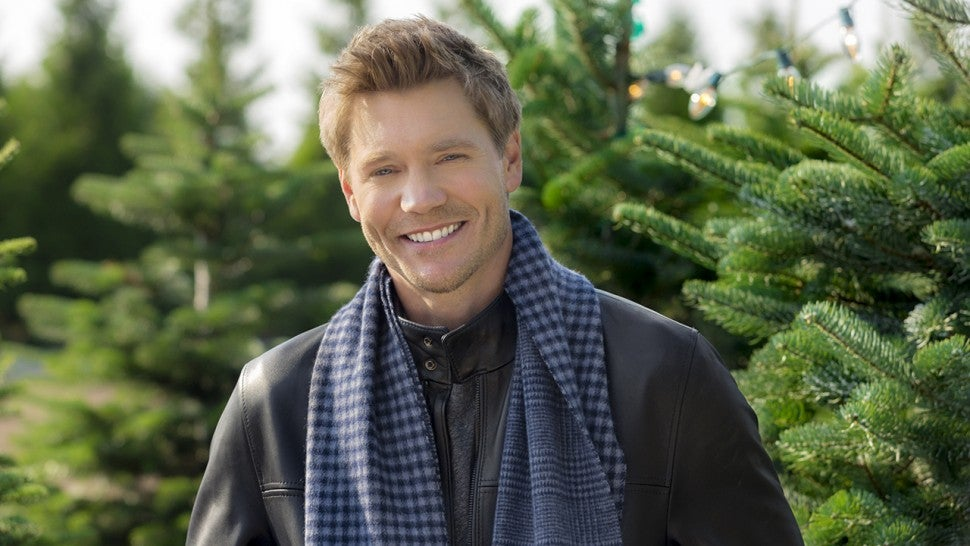 Chad Michael Murray on Hallmark