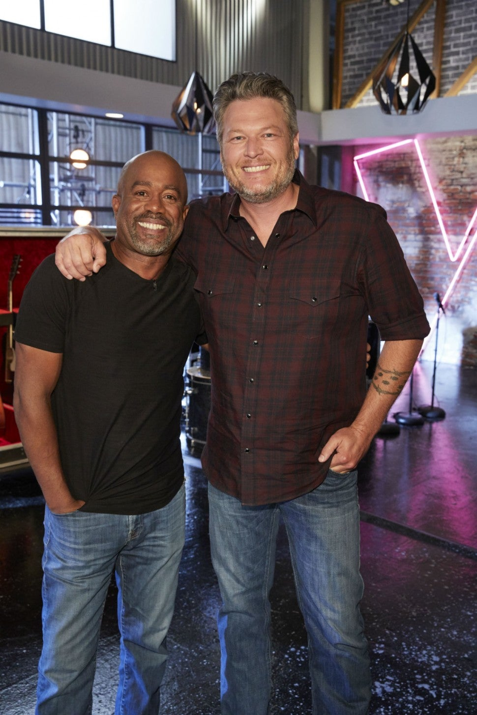 Darius Rucker and Blake Shelton