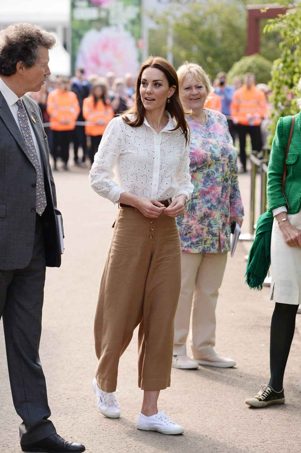 Kate Middleton at Chelsea Flower Market 2019