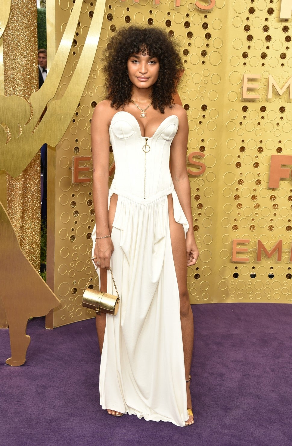 Indya Moore at 2019 Emmy Awards