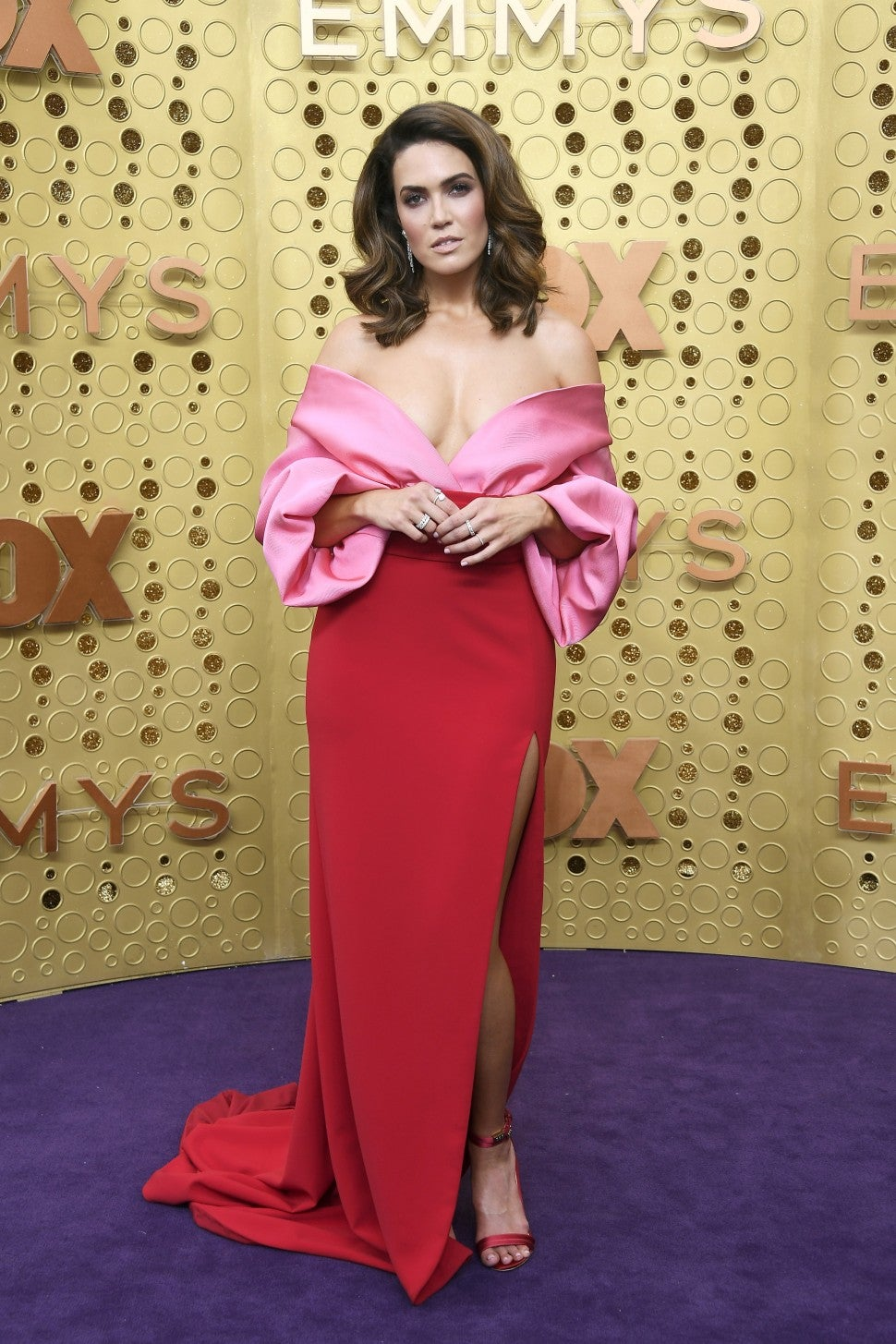 Mandy Moore attends the 71st Emmy Awards at Microsoft Theater on September 22, 2019 in Los Angeles, California.
