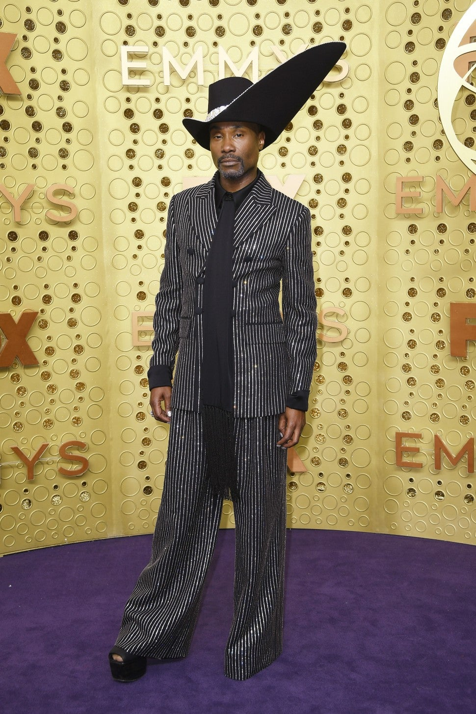 Billy Porter at 2019 Emmys red carpet
