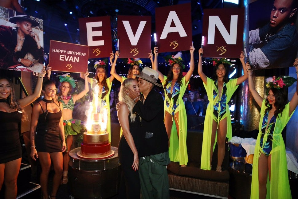 evan ross bday