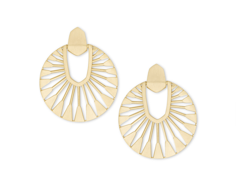Kendra Scott Didi Sunburst Statement Earrings