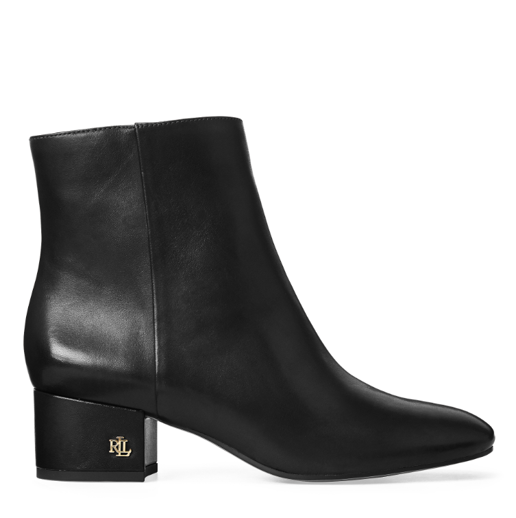 Lauren Ralph Lauren Welford Leather Bootie