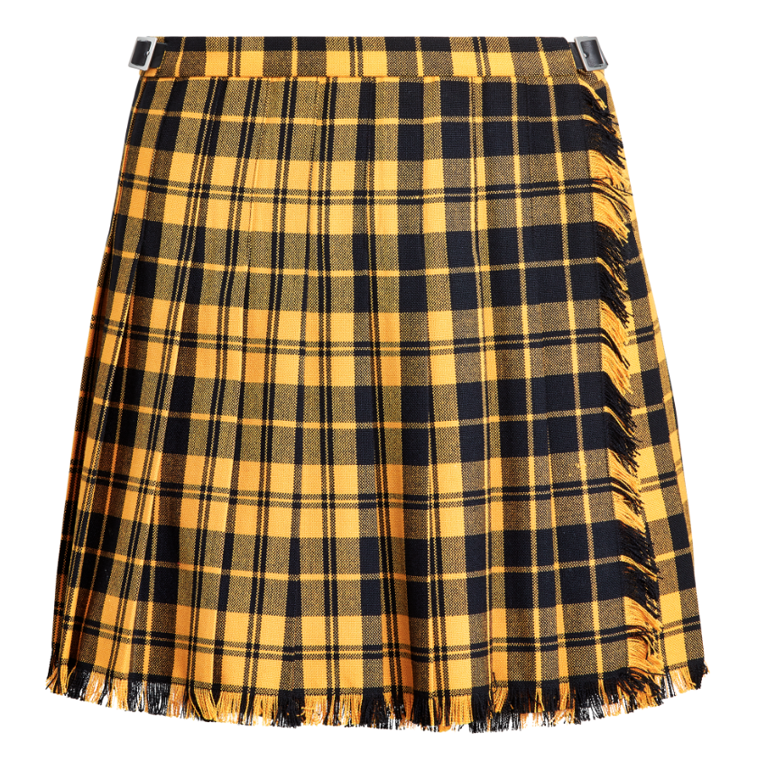 Polo Ralph Lauren Pleated Wool-Blend Miniskirt