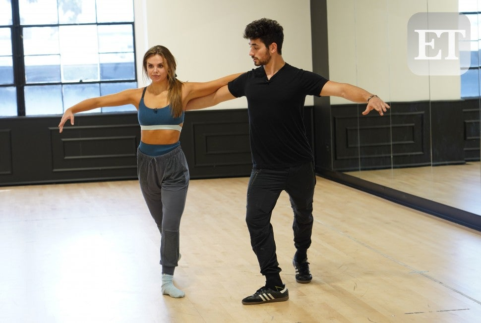 Hannah Brown and Alan Bersten DWTS