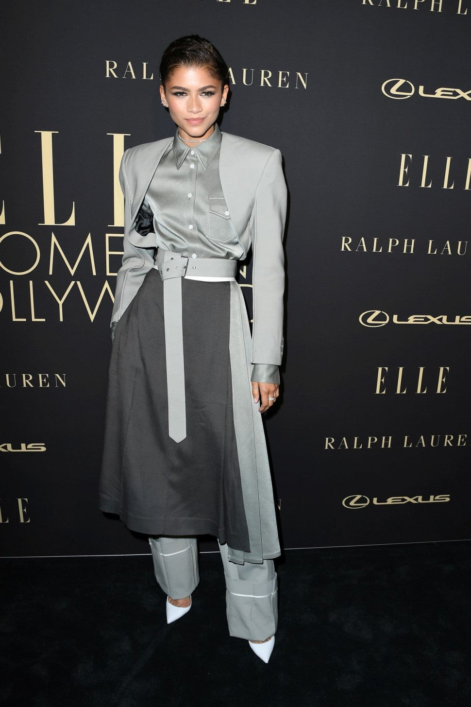 Zendaya at Elle's Women in Hollywood event