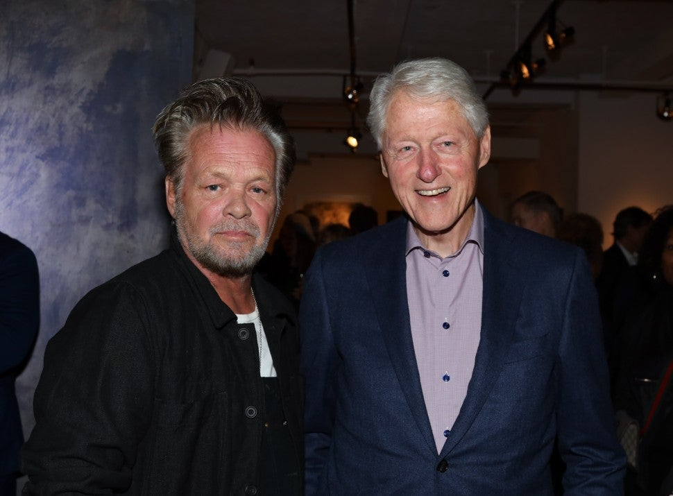 John Mellencamp and Bill Clinton