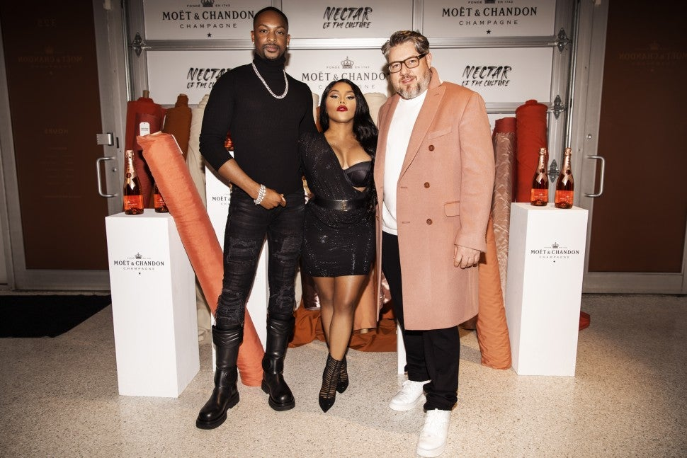 lil kim, Jonathan Mannion and  LaQuan Smith