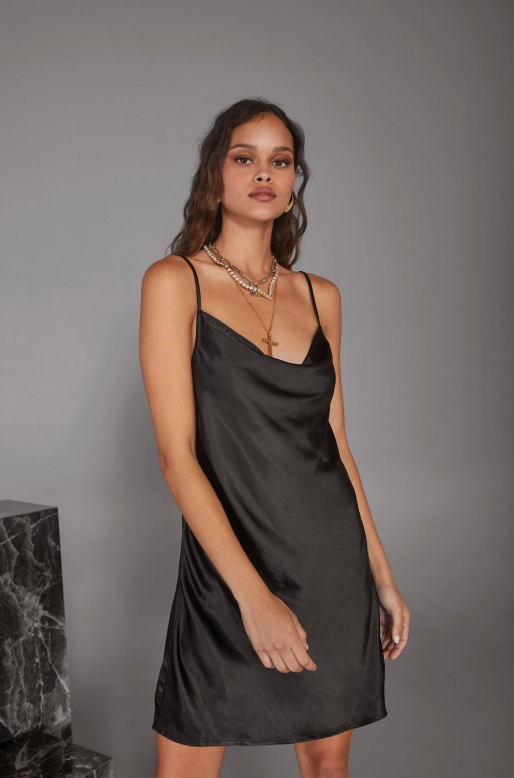 Nasty Gal x Cara Delevingne Open Your Heart Slip Dress