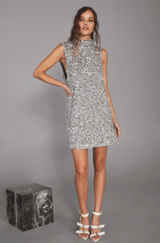 Nasty Gal x Cara Delevingne The Beat Goes On Sequin Dress