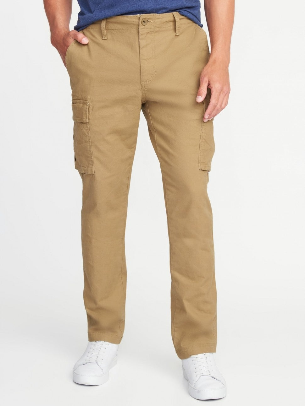 Old Navy Straight Lived-In Flex Cargo Pants