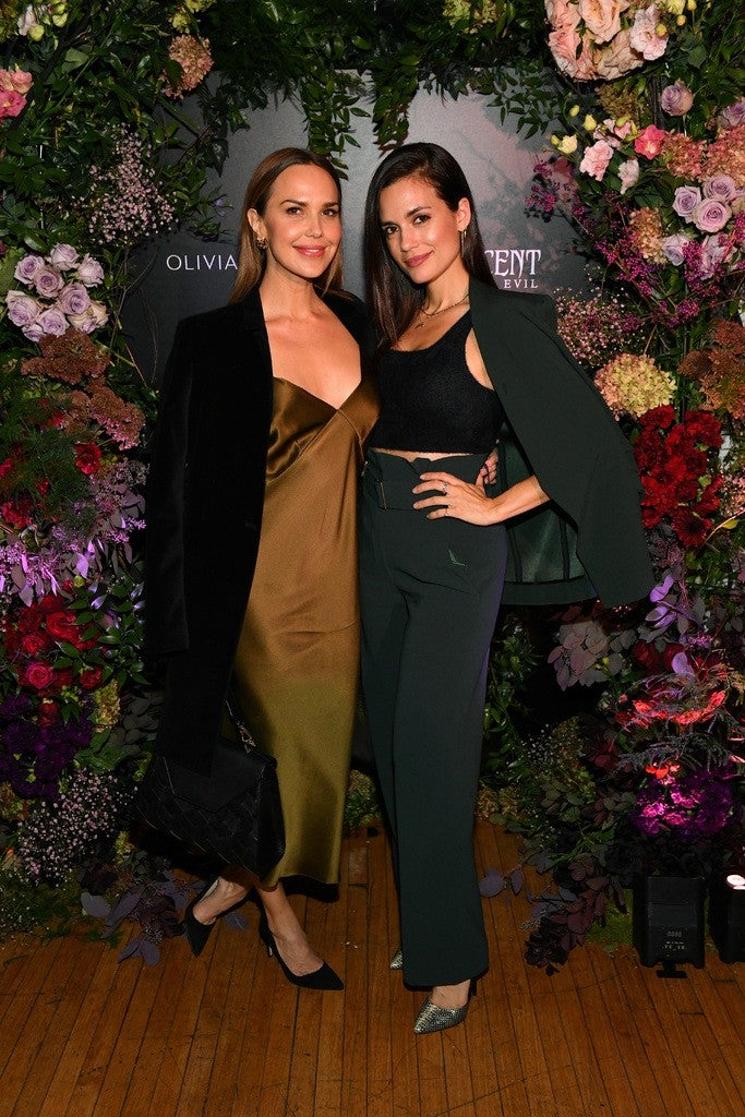 Arielle Kebbel & Torrey DeVitto celebrated the launch of Olivia von Halle's 15-piece Malef