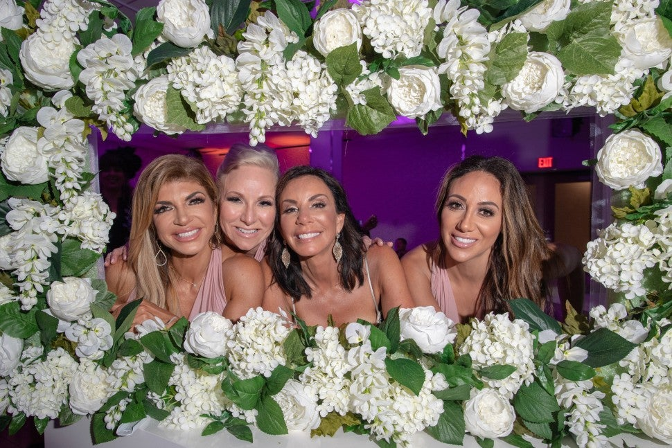 Margaret Josephs and Melissa Gorga were bridesmaids in Danielle Staub's wedding to Marty Caffrey, alongside Teresa Giudice.