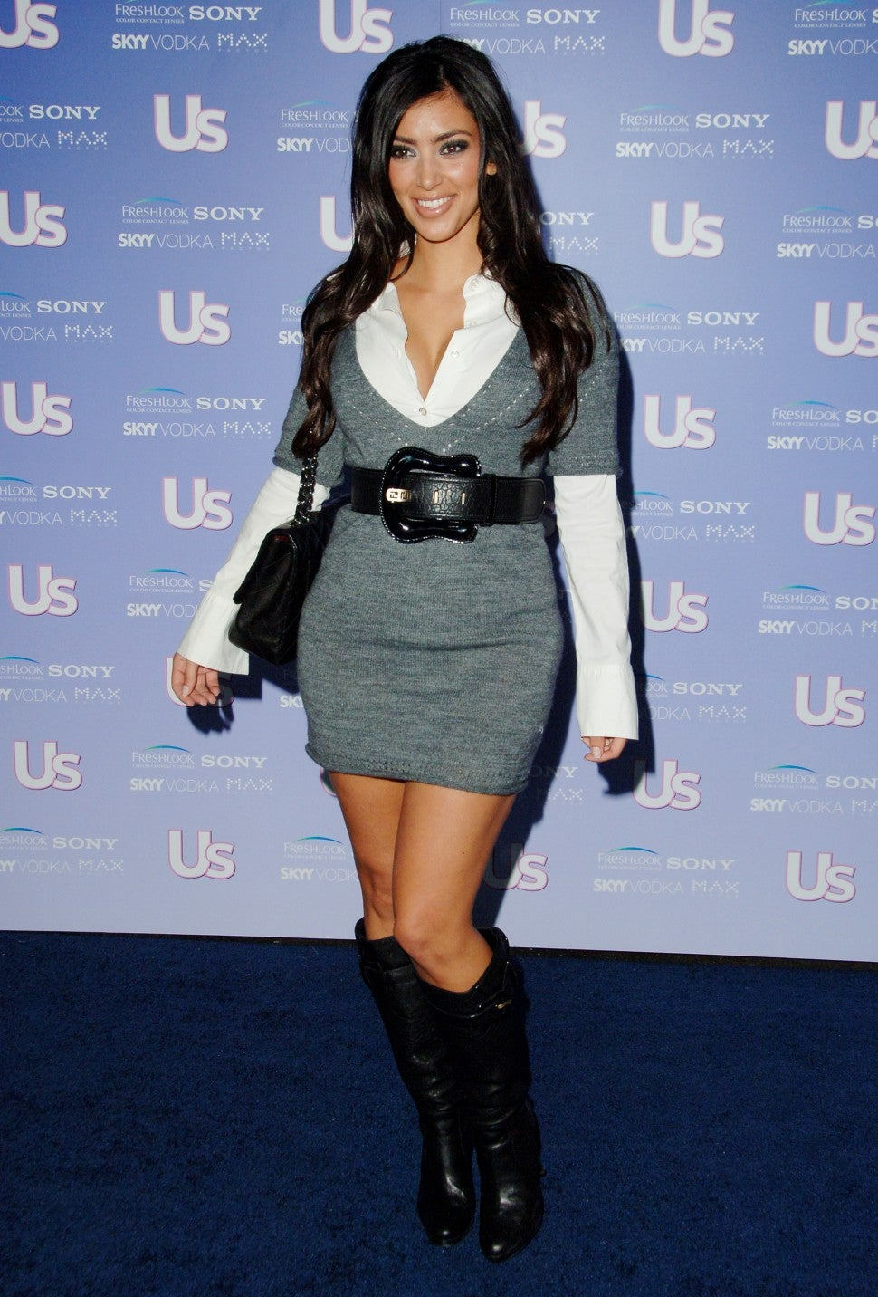 Kim Kardashian US Weekly Party 2006