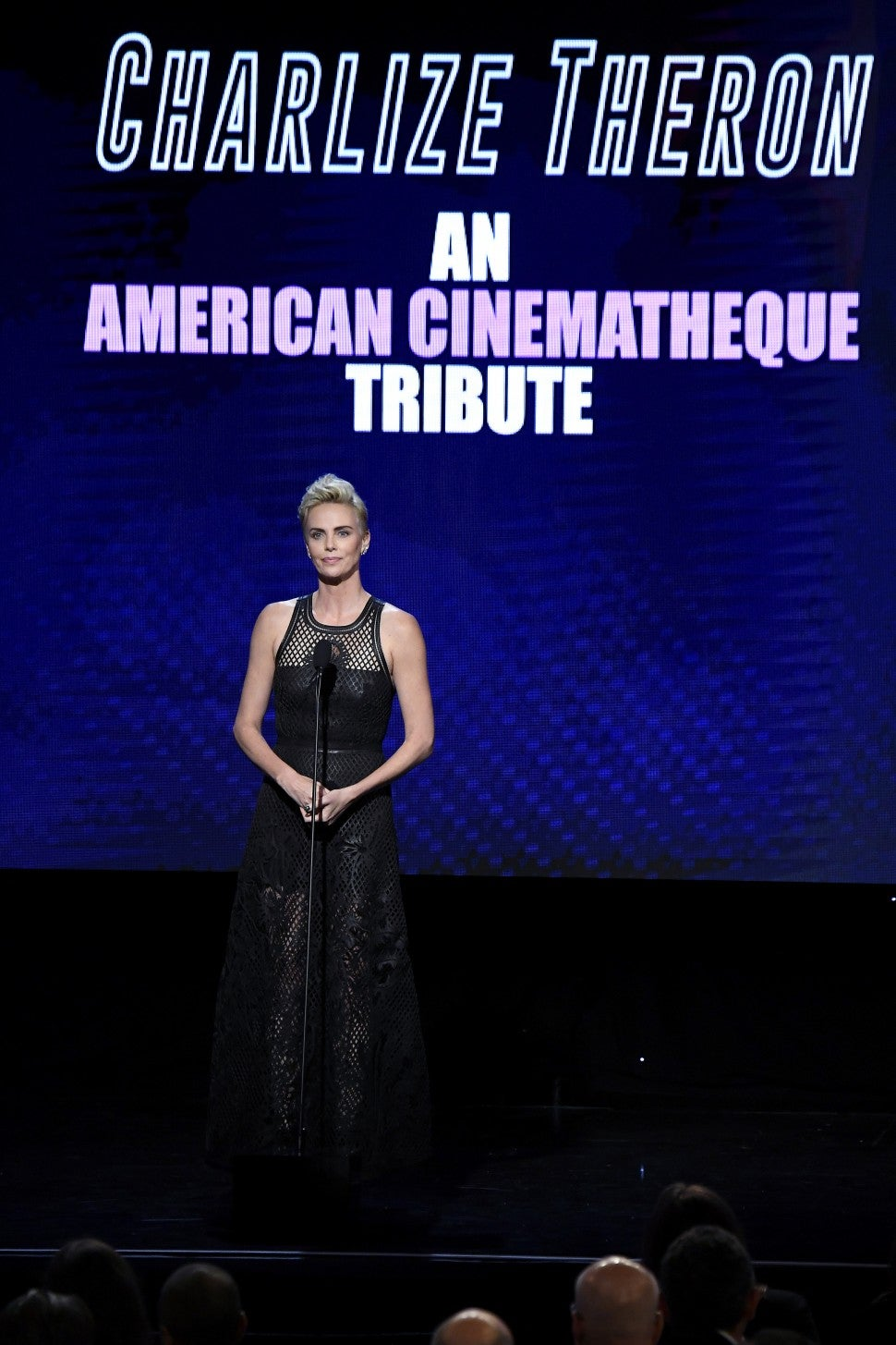 Charlize Theron 33rd American Cinematheque Awards
