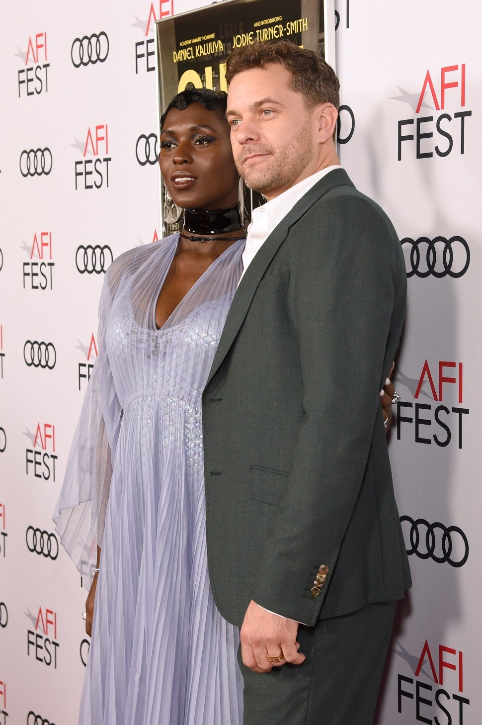 Jodie Turner Smith Joshua Jackson Ring