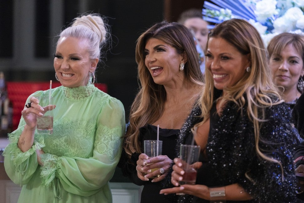 Margaret Josephs and her 'Real Housewives of New Jersey' co-stars.