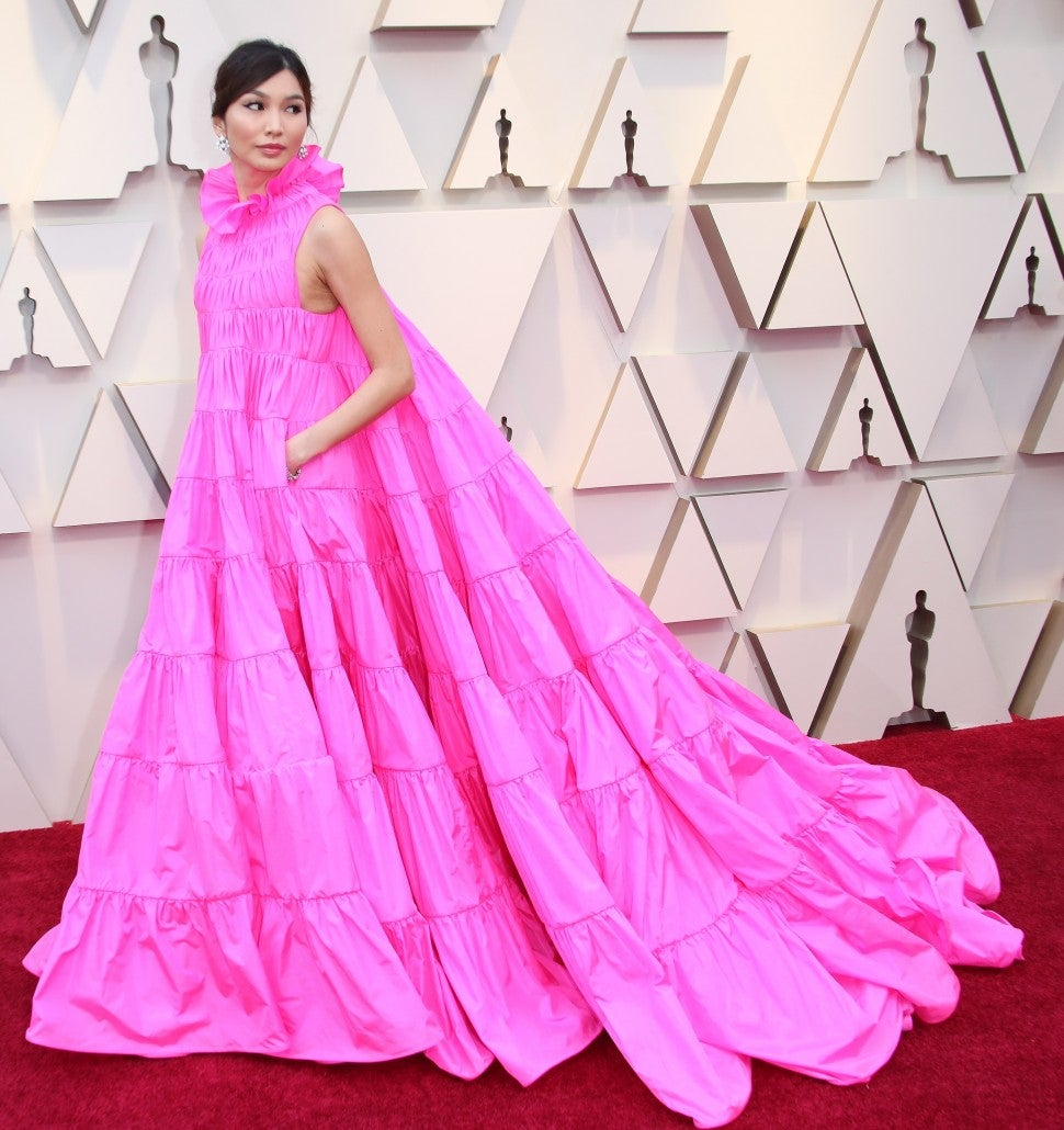 Gemma Chan at 2019 oscars