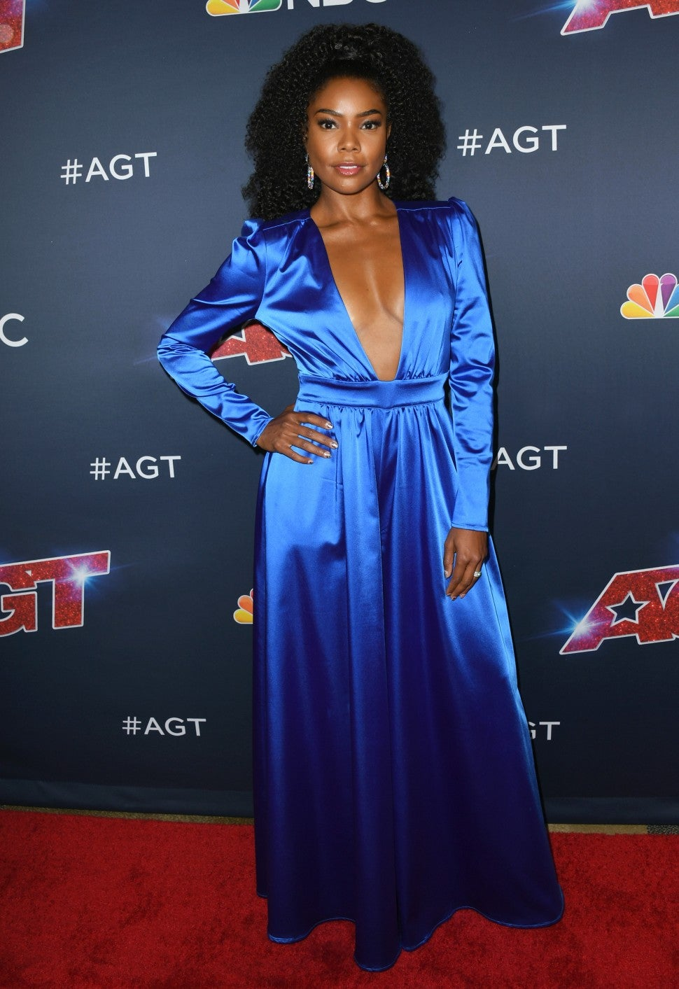 "Gabrielle Union at ""America's Got Talent"" live show"