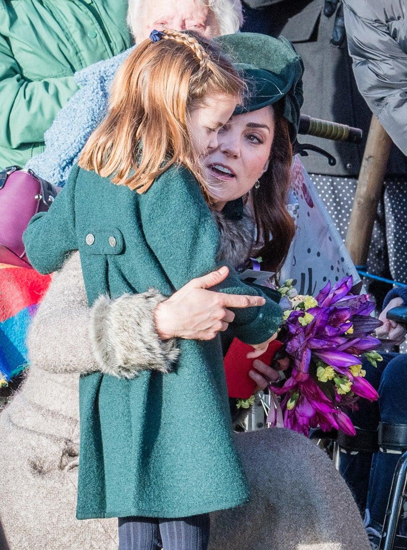 Prince George and Princess Charlotte Make Their Christmas Debut With Prince William and Kate ...