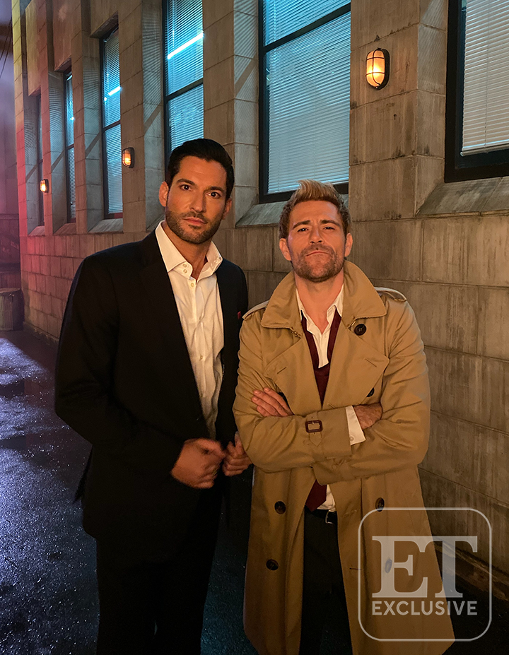 Lucifer and Constantine