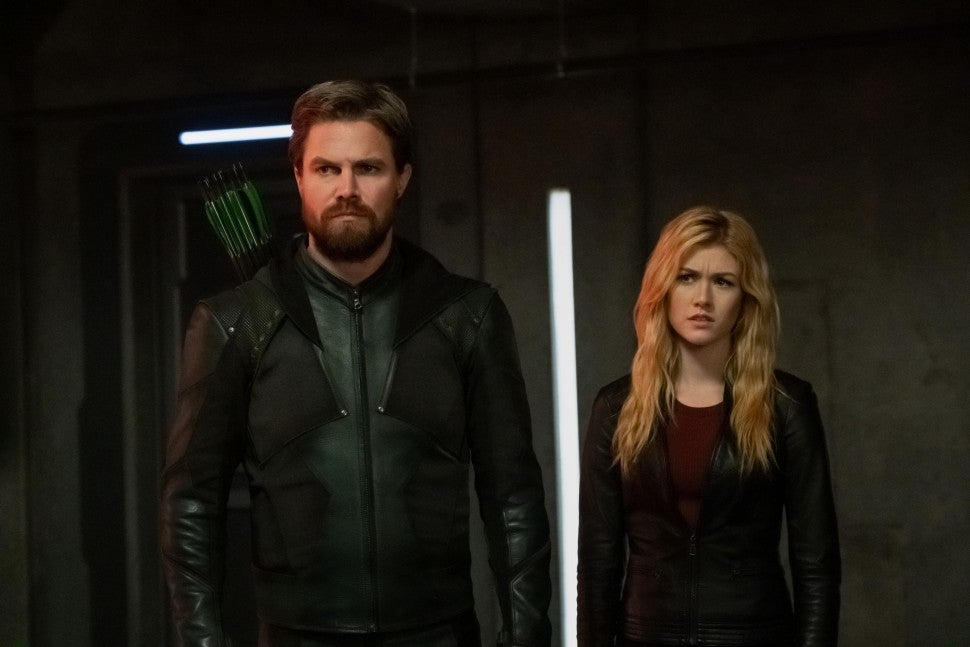 Arrow, Stephen Amell, Katherine McNamara