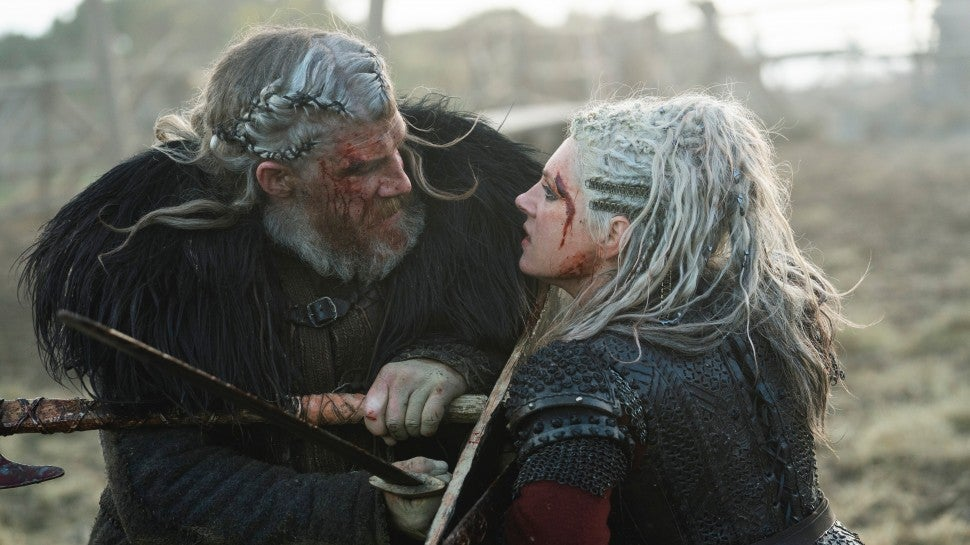 Vikings Star On Beloved Character S Heartbreaking Death Why It S Not Goodbye Exclusive Entertainment Tonight