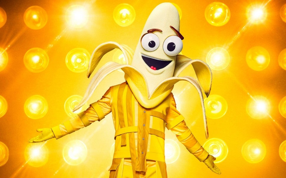 The Banana on The Masked Singer