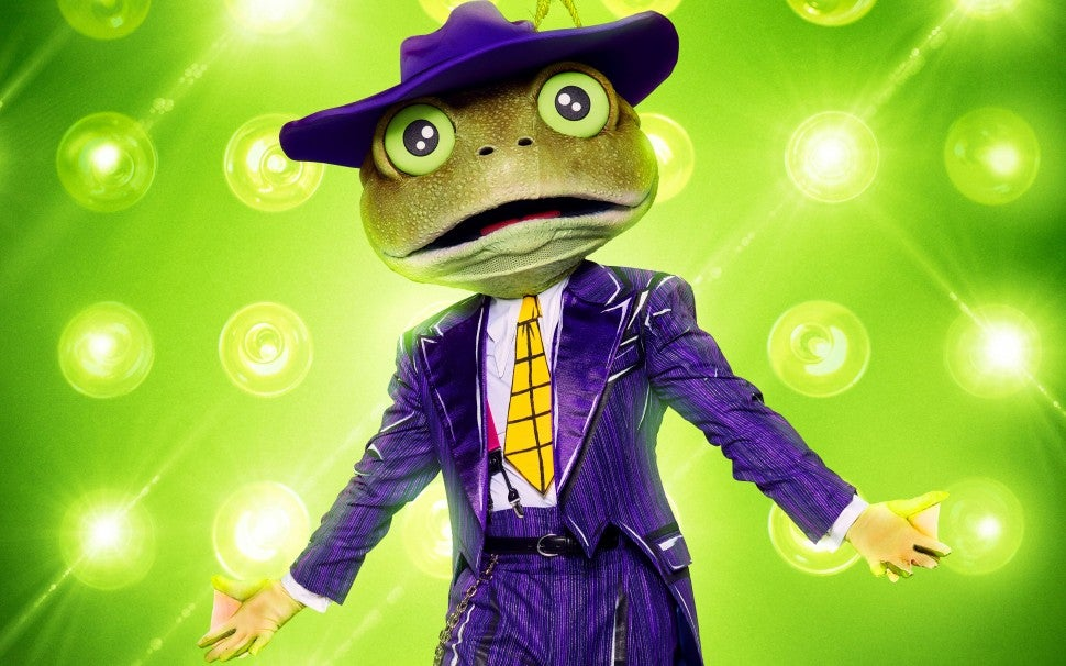 The Frog on The Masked Singer