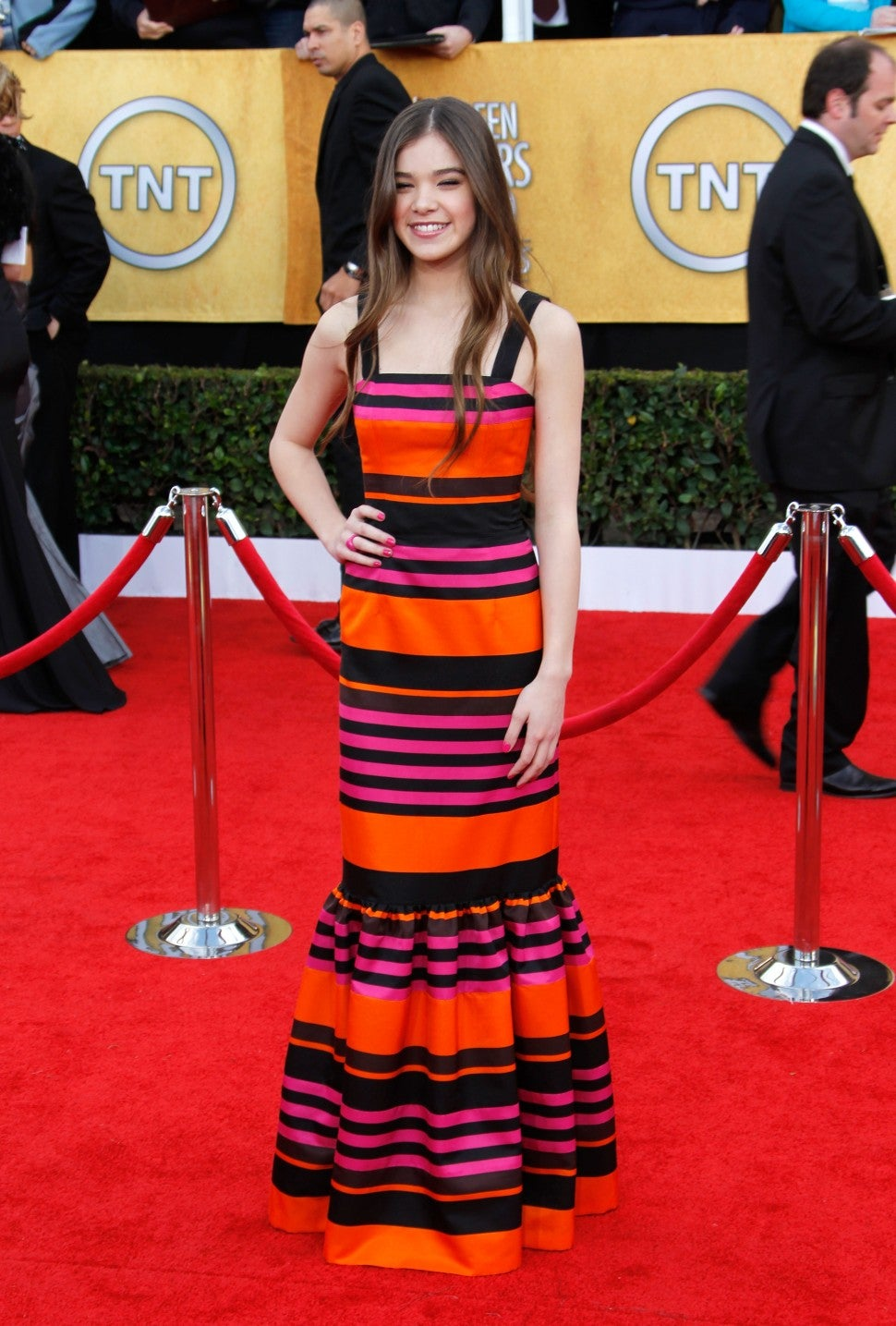 Hailee Steinfeld at the 17th Annual Screen Actors Guild Awards