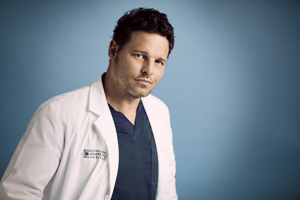 Justin Chambers in Grey's Anatomy