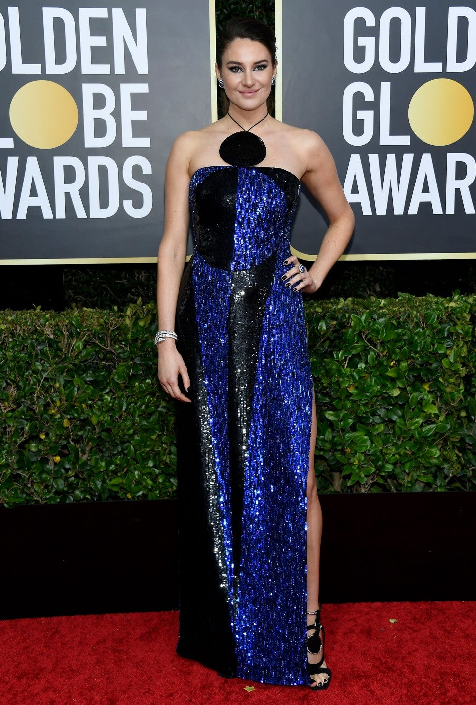 shailene woodley at 2020 golden globes