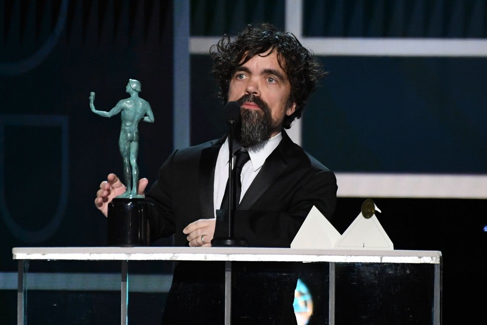 Peter Dinklage, 2020 SAG Awards