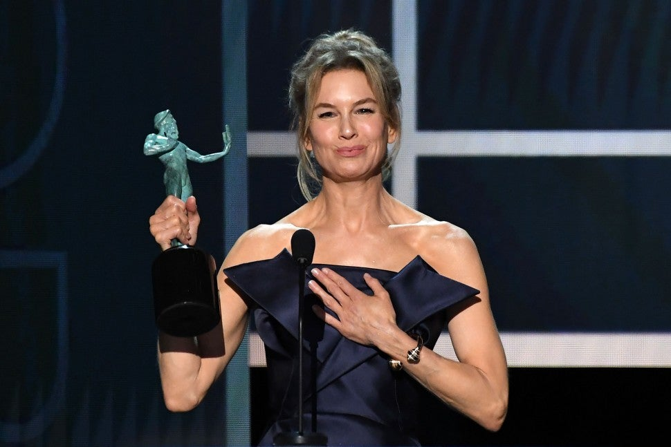 Renee Zellweger, 2020 SAG Awards