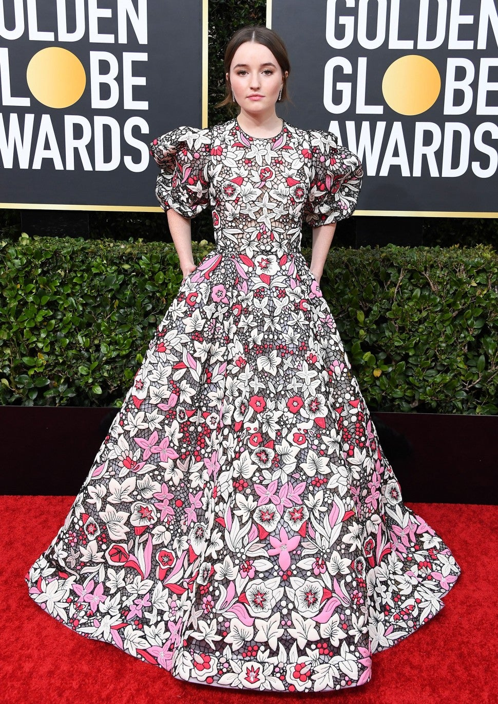 Kaitlyn Dever at the 77th Annual Golden Globe Awards