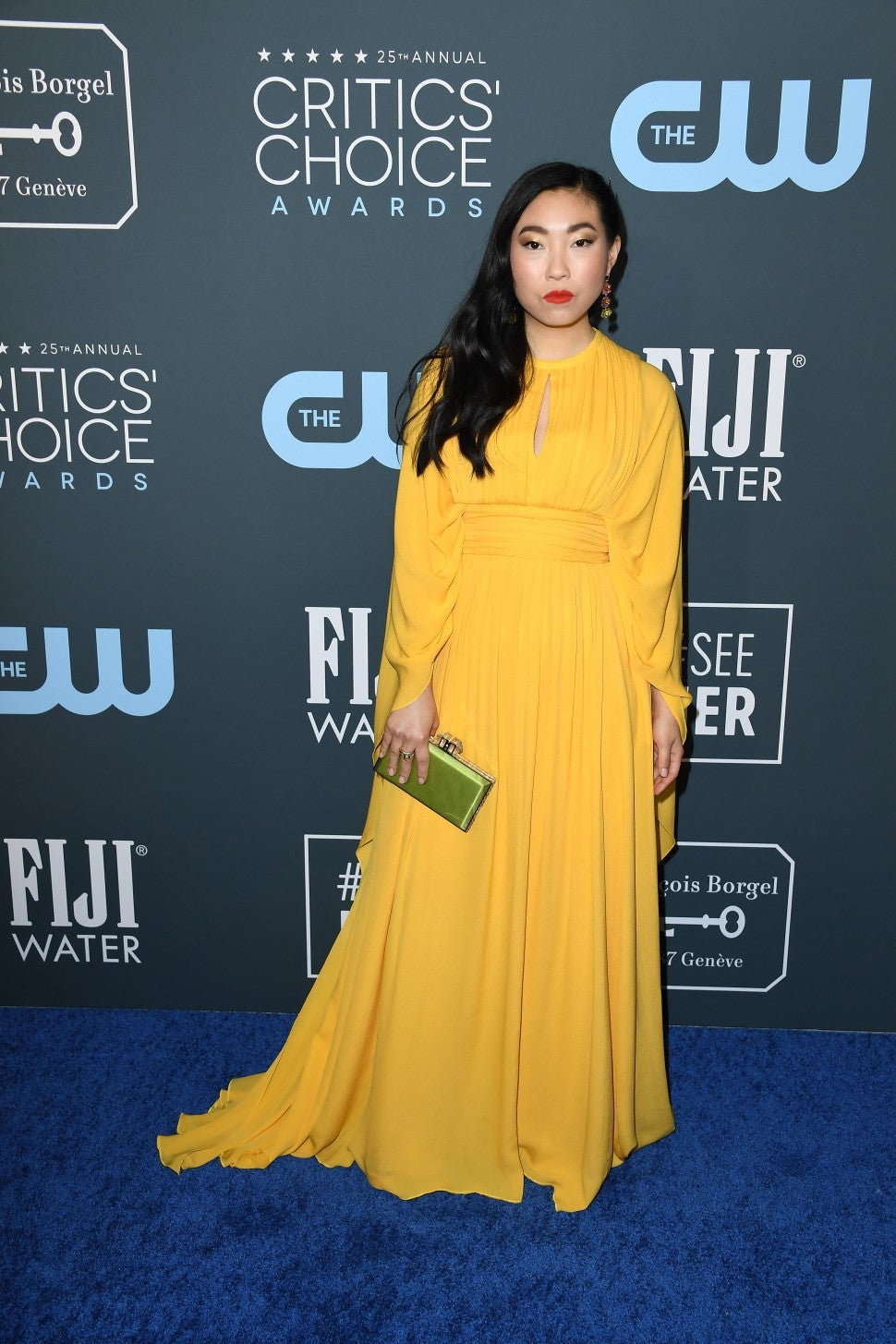 Awkwafina at 2020 Critics' Choice Awards