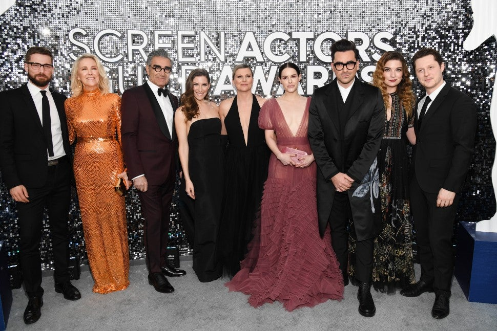 Schitt's Creek, 2020 SAG Awards