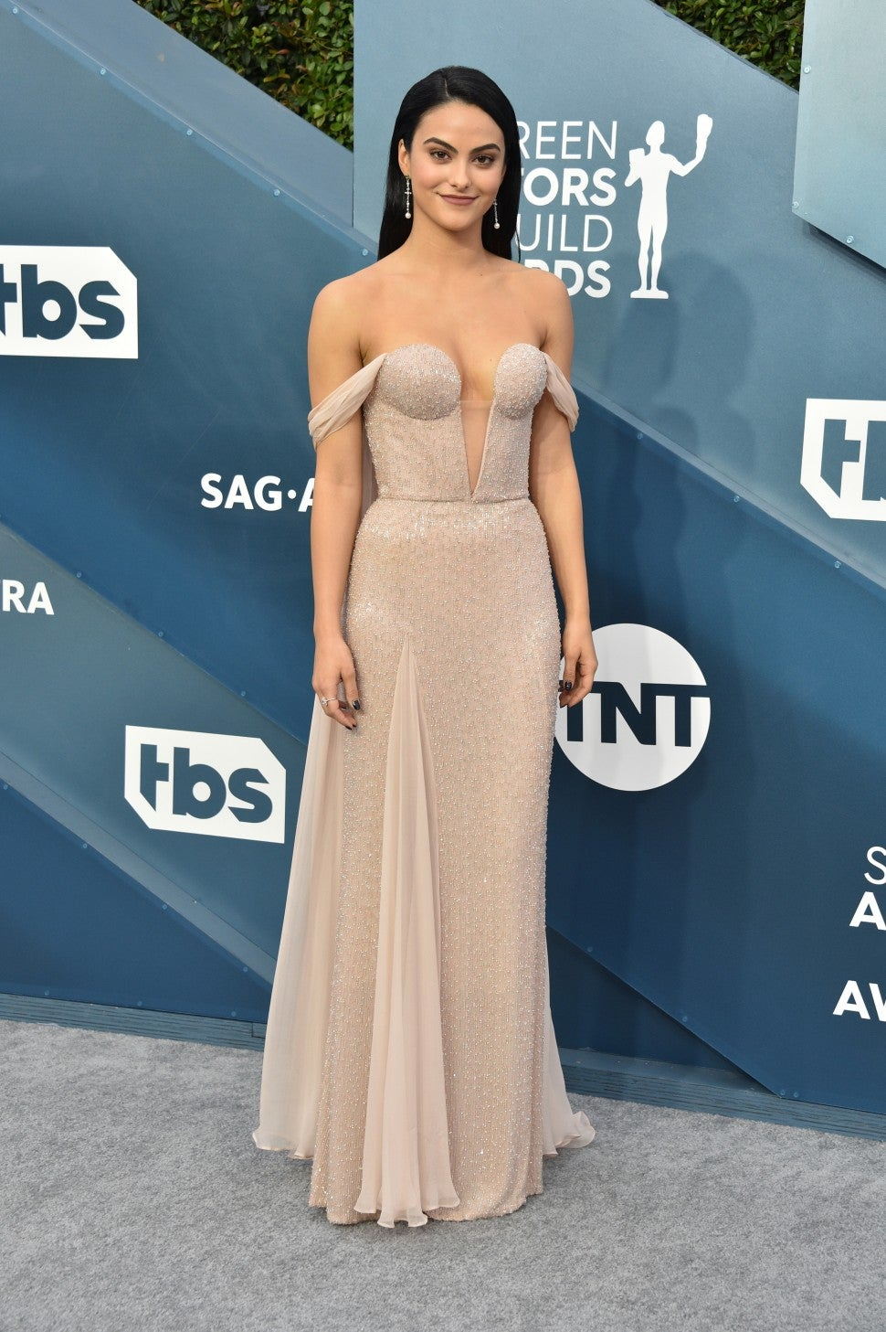 camila mendes at 2020 sag awards