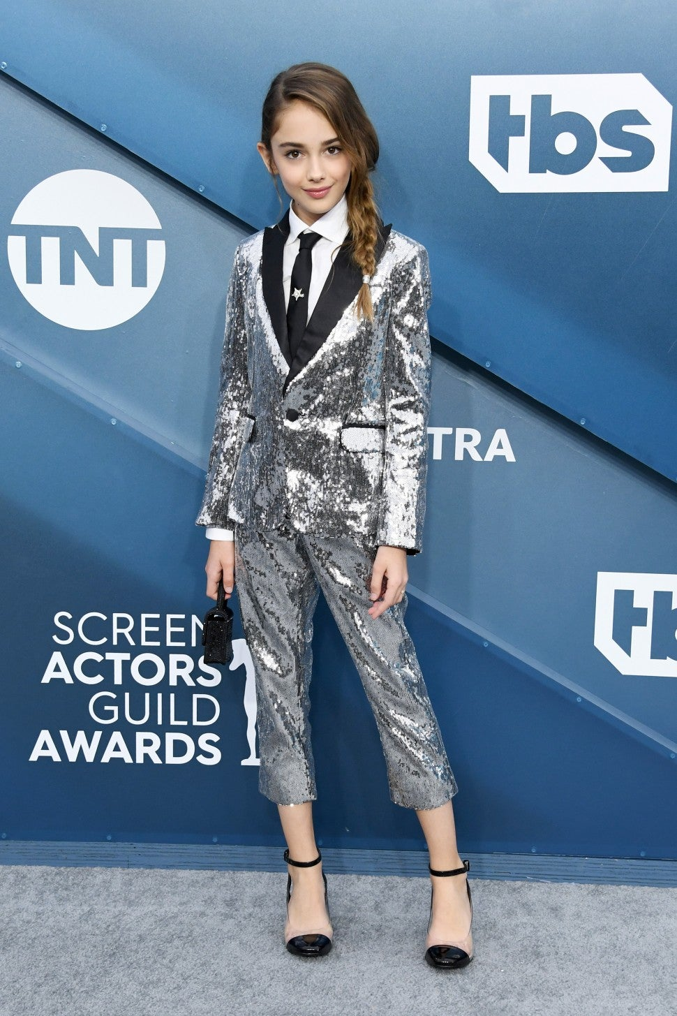 Julia Butters at the 26th Annual Screen Actors Guild Award