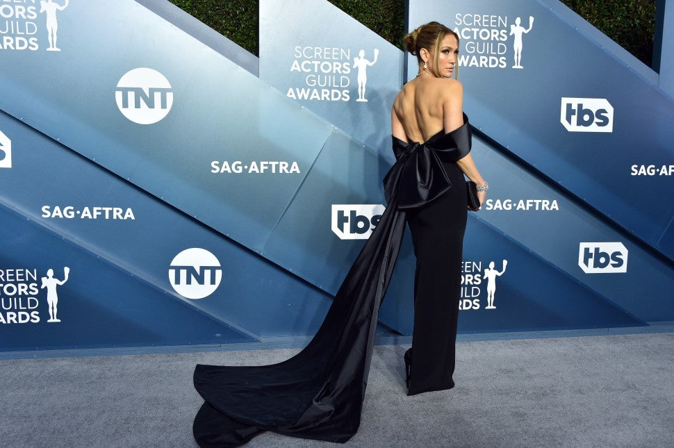 Jennifer Lopez at the 26th Annual Screen Actors Guild Awards