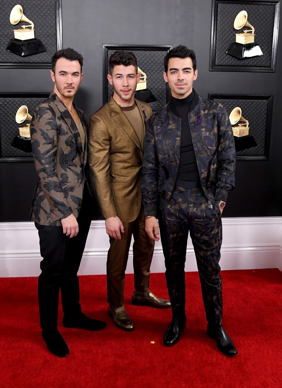 The Jonas Brothers at 2020 GRAMMYs