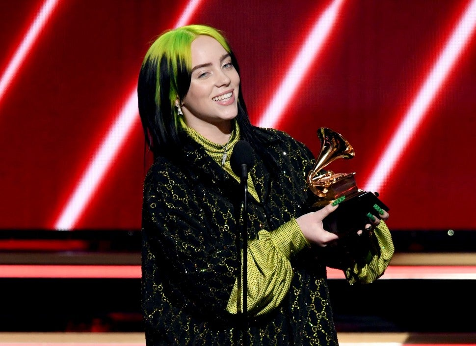 Billie Eilish, 2020 GRAMMYs