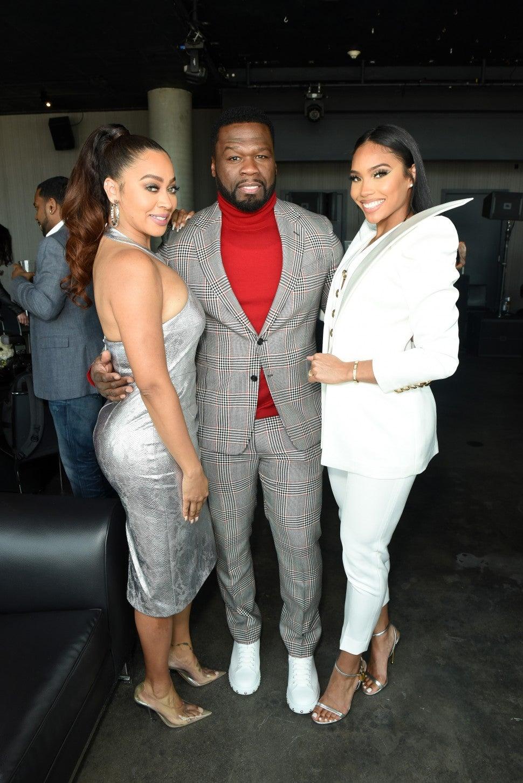 La La Anthony 50 Cent Jamira Haines