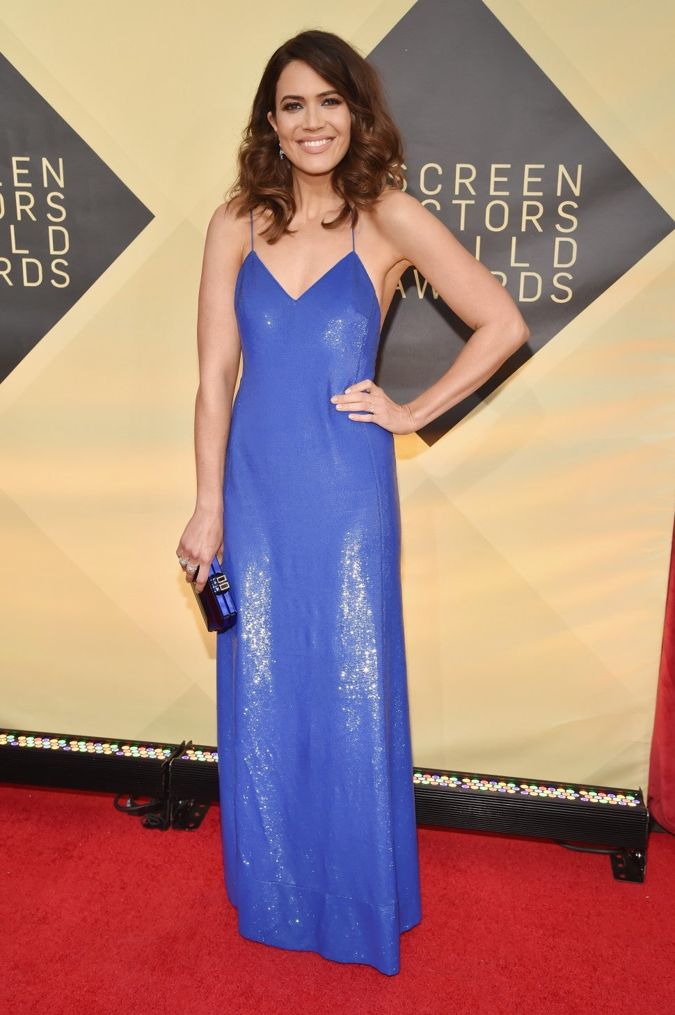Mandy Moore at the 24th Annual Screen Actors Guild Awards