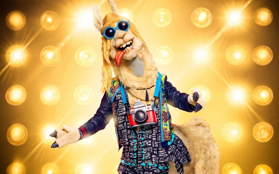 The Llama on The Masked Singer