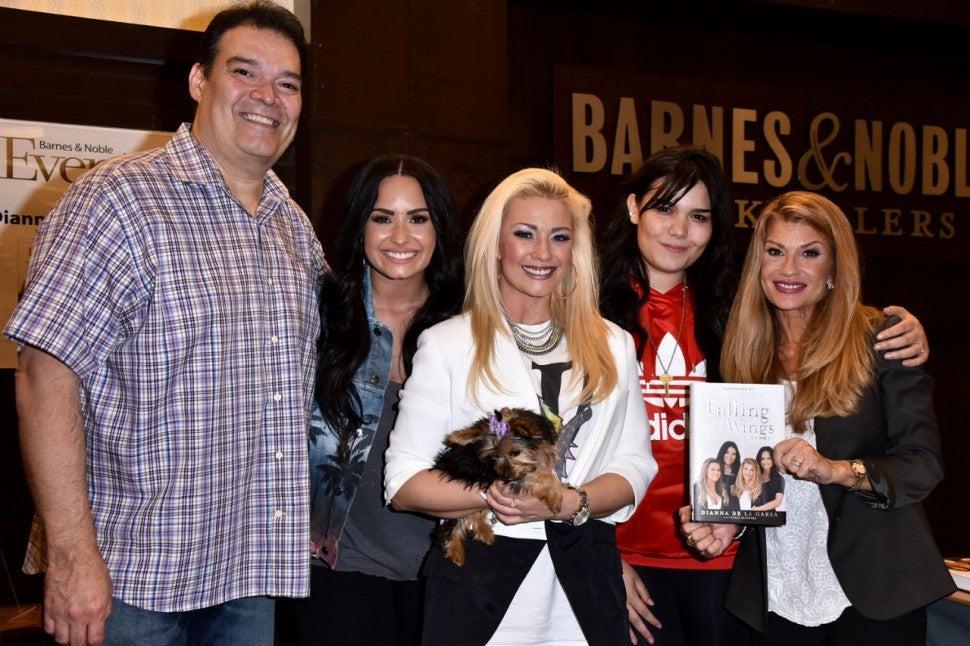 Demi Lovato's family